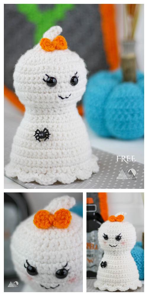 Pretty Little Ghost Free Crochet Pattern By Lindsey