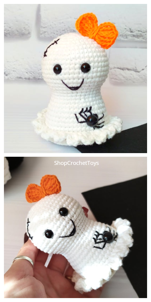 Amigurumi Little Ghost Free Crochet Patterns