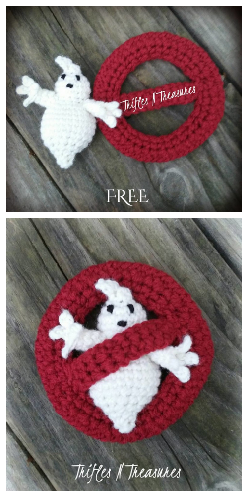 I Aint Fraid-a No Ghost Free Crochet Pattern by Tera Kulling