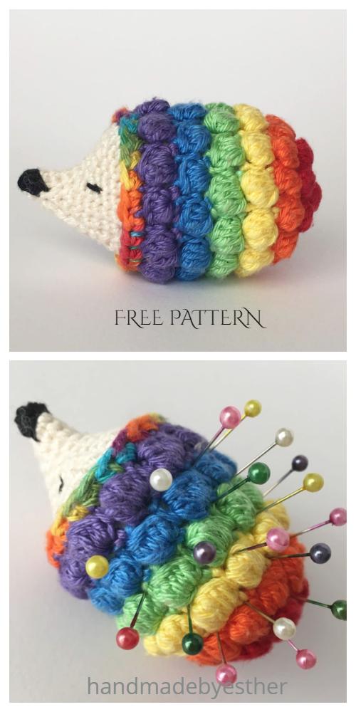 Crochet Diddy Hedgehog Amigurumi Free Pattern + Video