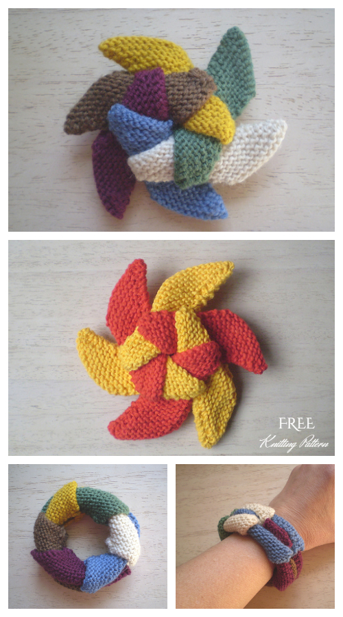 Knit Sliding Star Free Knitting Pattern