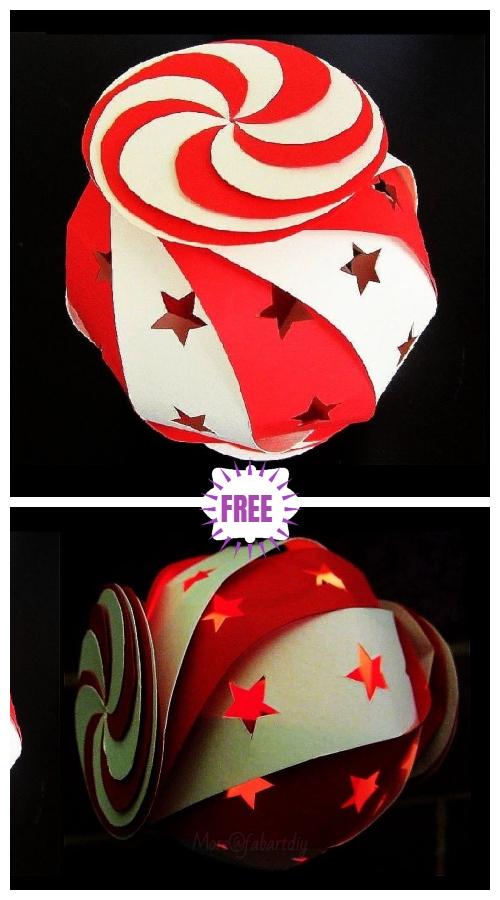 10-Sided Paper Globe Lantern DIY Tutorial