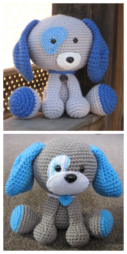 Amigurumi Domino The Dog Toy Crochet Pattern
