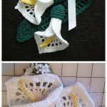 Crochet Calla Lily Flower Pin Free Crochet Pattern