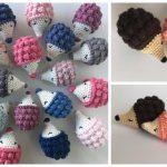 Crochet Diddy Hedgehog Amigurumi Free Pattern