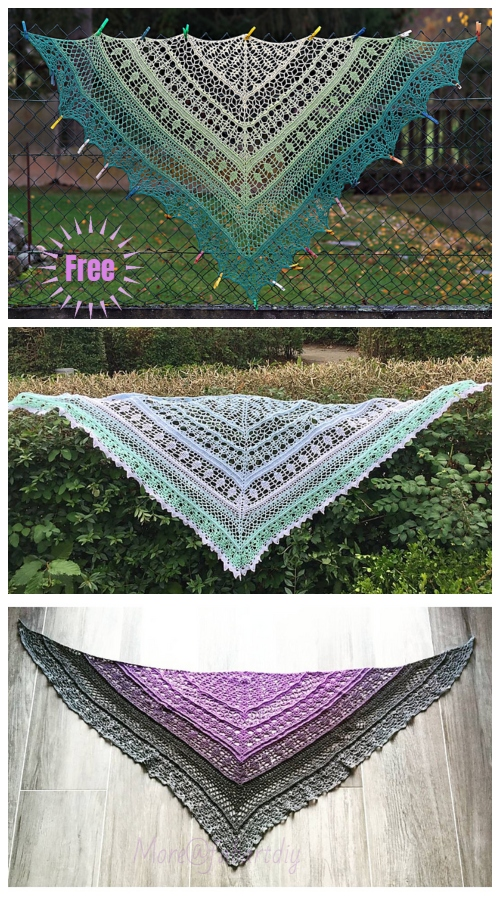 Crochet Edlothia Shawl Free Crochet Pattern