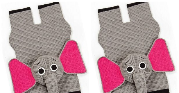 Crochet baby elephant rug | Crochet elephant, Animal rug, Baby rugs | 320x616
