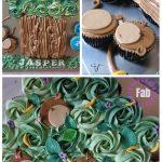Fun Monkey Pull Apart Cupcake Cake DIY Tutorial