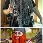 Halloween Crochet Dwarven Viking Beard Free Crochet Pattern