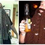 Halloween Crochet Dwarven Viking Beard Free Crochet Pattern