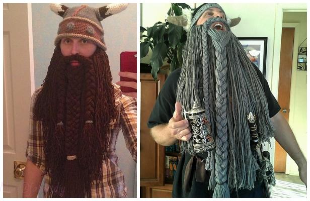 Halloween Crochet Dwarven Viking Beard Free Crochet Patterns
