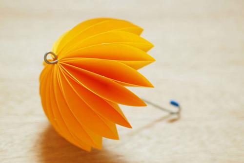 Kids Craft Easy Origami Paper Umbrella DIY Tutorial