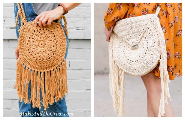 Boho Purse Free Crochet Patterns