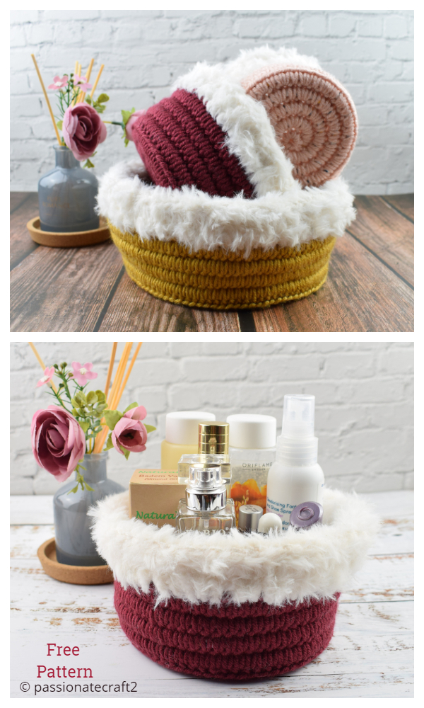 Gaia basket Free Crochet Patterns
