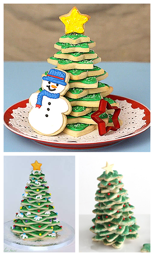 Christmas Recipe: 3D Cookie Christmas Tree DIY Tutorial - Video