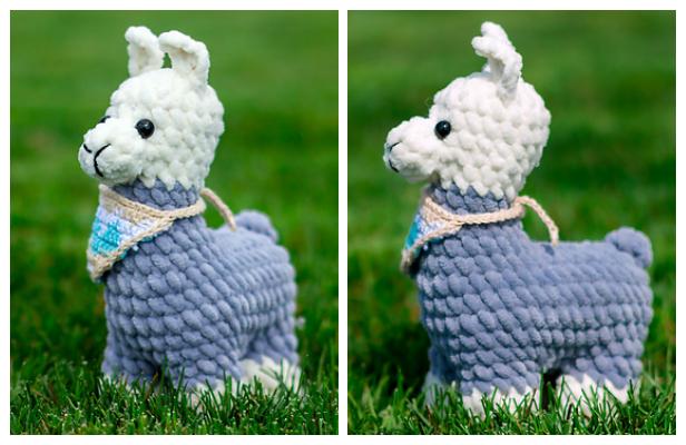 Crochet Llama Toy Amigurumi Free Patterns