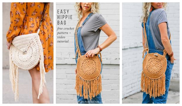 Street Fair Boho Purse Free Crochet Pattern