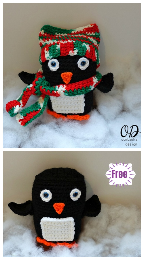 Crochet Baby Penguin Amigurumi Free Patterns