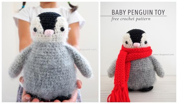 Free Crochet Patterns | Free Crochet Pattern Penguin Amigurumi ... | 361x616