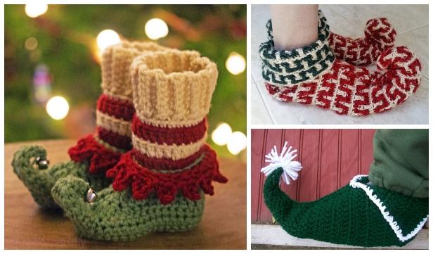 Crochet Elf Slippers Free Crochet
