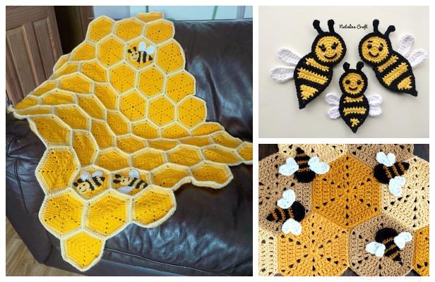 Benevolent Bumble Bee - Free Crochet Pattern on Moogly | 400x616