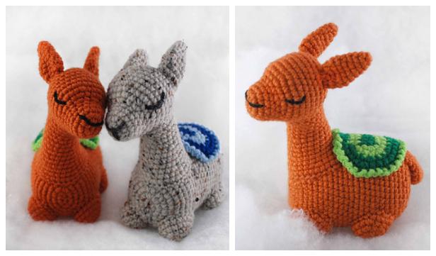CAL Crochet Llama Toy Amigurumi Free Pattern