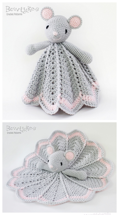 Crochet Wee Mouse Lovey Crochet Pattern