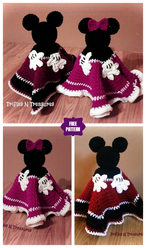 Crochet Magical Mouse Lovey Free Crochet Pattern