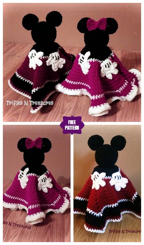 CrochetMagical Mouse Lovey Free Crochet Pattern
