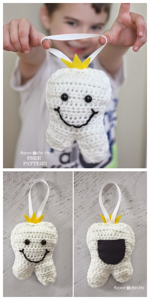 Crochet Tooth Fairy Pillow Free Crochet Patterns
