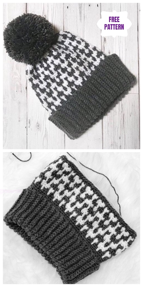 Crochet Up North Hat Free Crochet Pattern