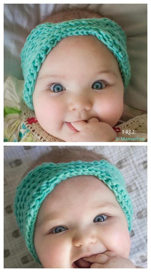 Crochet Baby Everly Head Wrap Free Crochet Pattern