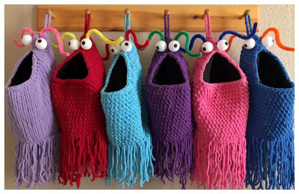 Yip Yips Hanging Basket Free Crochet Pattern