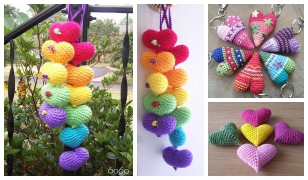 Cute and Fun Keychain Crochet Patterns | Crochet keychain pattern ... | 361x616