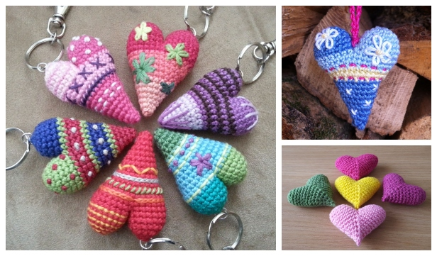 Ravelry: Amigurumi Heart pattern by HappyAmigurumi | 361x616