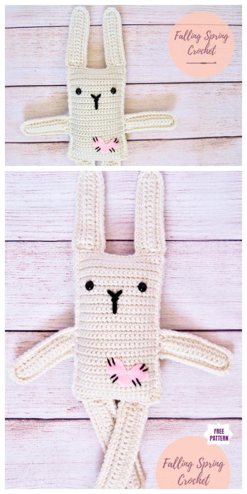 Classic Amigurumi Bunny Crochet Pattern - Once Upon a Cheerio | 1000x500