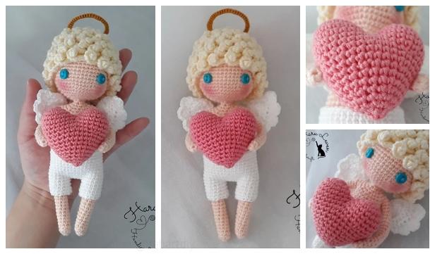 Crochet Angel Pattern | Ganchillo amigurumi, Amigurumis patrones ... | 361x616
