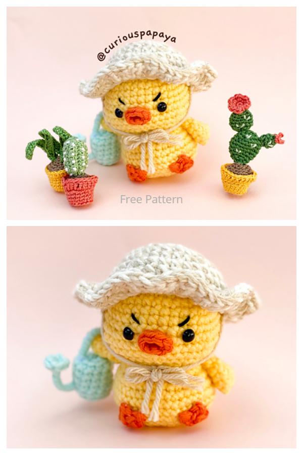 Crochet Grumpy Chick Amigurumi Free Patterns