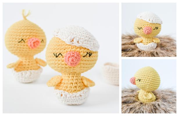 Crochet Easter Chick Amigurumi Free Patterns
