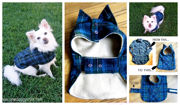 DIY Recycled Pet Coat and Sweater Free Sew Patterns