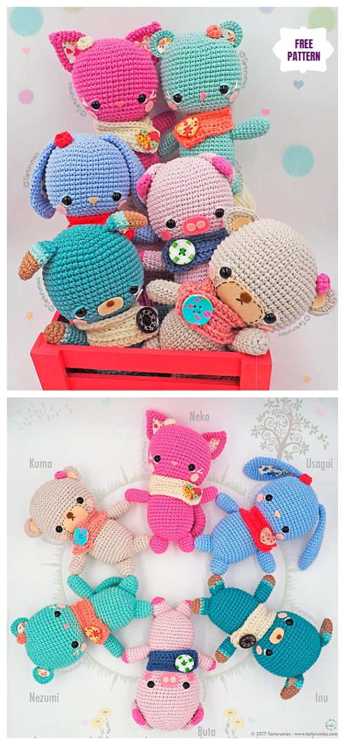 8 Adorable Diy Amigurumi Patterns - diy Thought | 1080x500