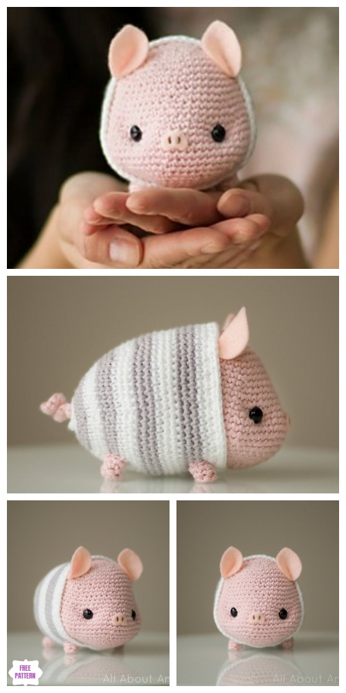 Crochet Chinese New Year Pig Amigurumi Free Pattern