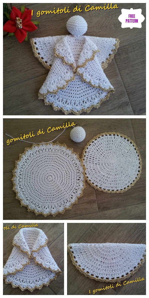 Crochet Circle Angel Free Crochet Patterns