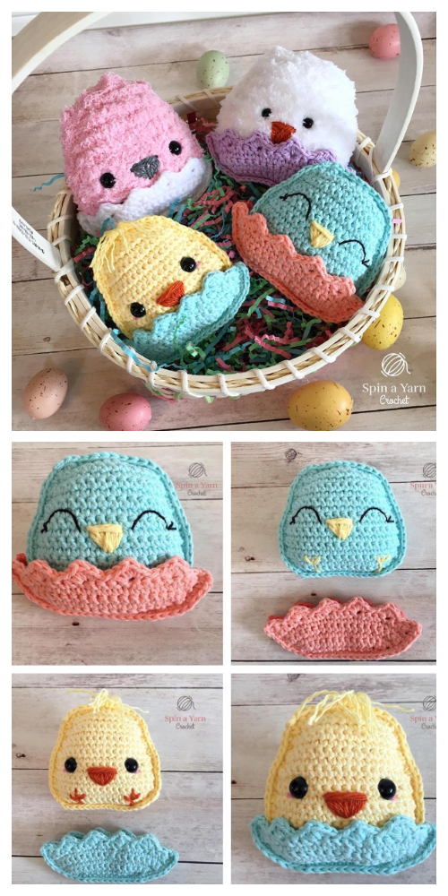Crochet Spring Chicks Amigurumi Free Patterns