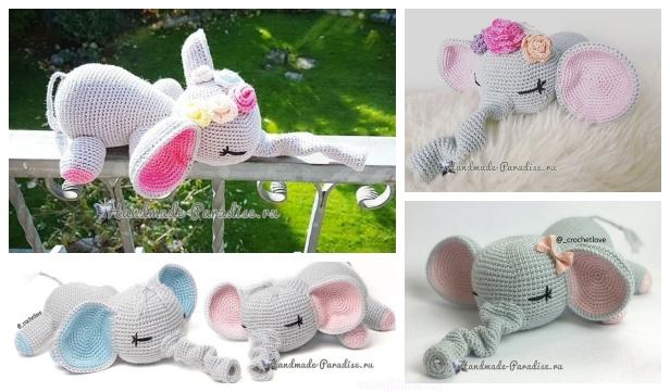 Crochet Elephant Pillow Pattern - Crochet News | 361x616