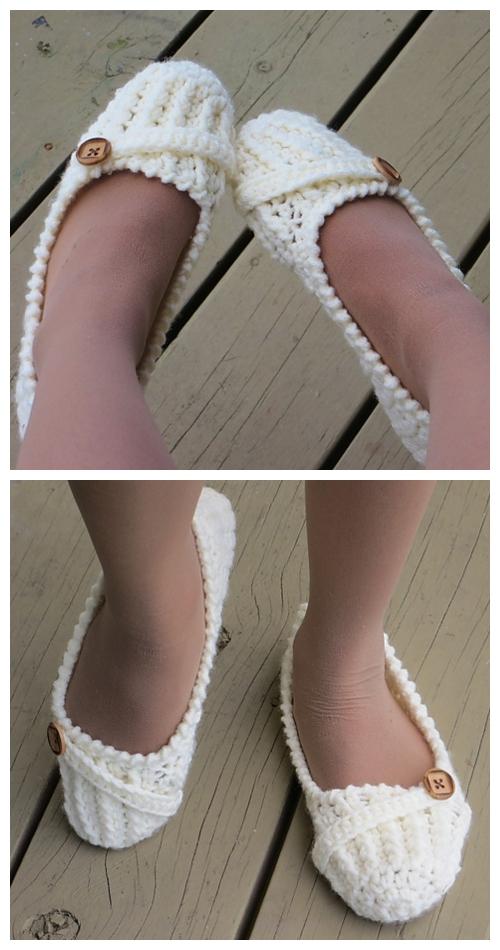 Knit Anne Lee Slippers Knitting Pattern