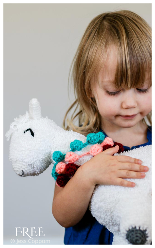 Crochet Allie the Alpaca Amigurumi Free Patterns