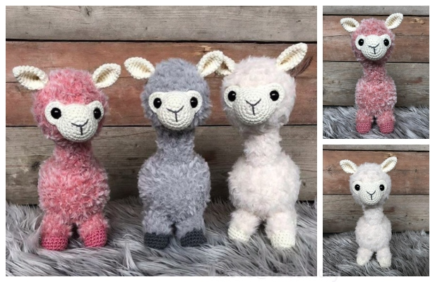 Adorable Crochet Llamas | 400x616
