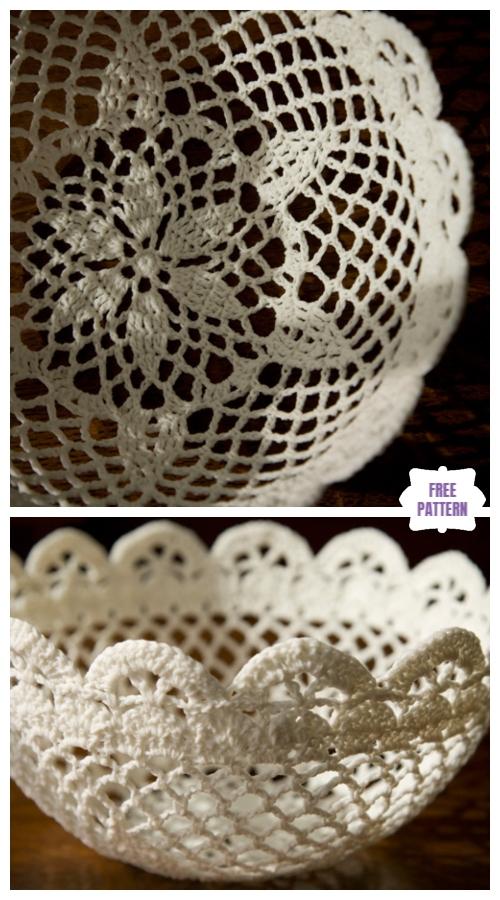 Crochet Lace Bowl Free Crochet Patterns