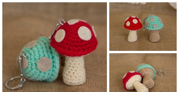 How To Make A Crocheted Children's Toy Mushroom - DIY Crafts ... | 320x616
